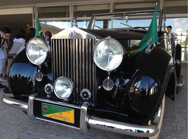 O Rolls Royce presidencial: todos querem andar nele
